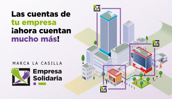 Casilla Empresa Solidaria Impuesto de sociedades 2018